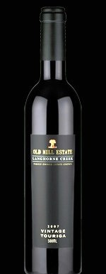 old mill estate wines vintage touriga 2007