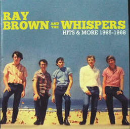 Ray-brown-and-the-Whispers---Hits-&-More_Front-cover_Vsml