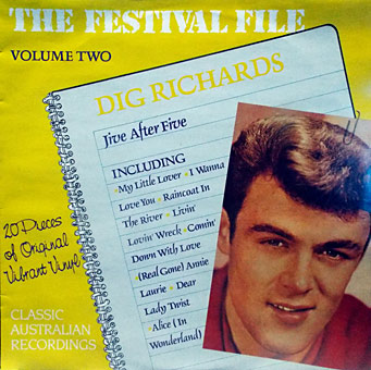 Dig-Richards--Jive-After-Five_Front-LP-Cover