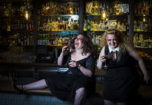 a decidedly gin soaked cabaret…