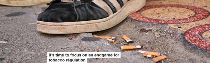 it's time to focus on an endgame for tobacco regulation