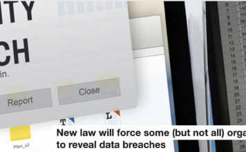 new law will force some (but not all) organisations to reveal data breaches