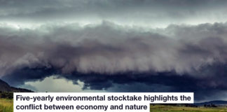five-yearly environmental stocktake highlights the conflict between economy and nature