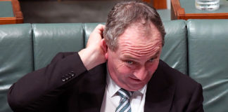 grattan on friday: barnaby joyce is telling the government to listen to politics in the pub