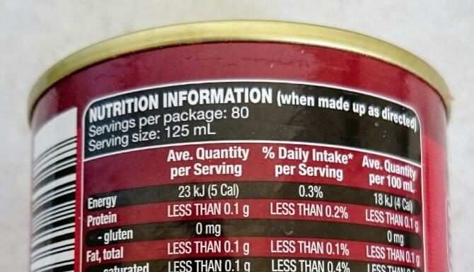 beef stock: contains no added msg, no preservatives, no artificial colours or flavours, no beef… huh?