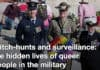 witch-hunts and surveillance: the hidden lives of queer people in the military