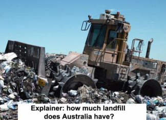 explainer: how much landfill does australia have?