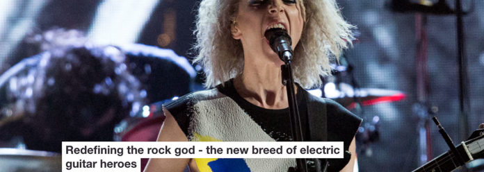 redefining the rock god – the new breed of electric guitar heroes