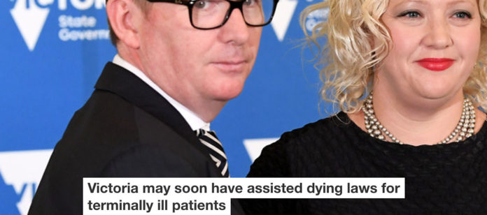 victoria may soon have assisted dying laws for terminally ill patients