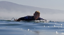 mick fanning   (to close for comfort)