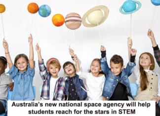 Australia's new national space agency will help students reach for the stars in STEM Heading
