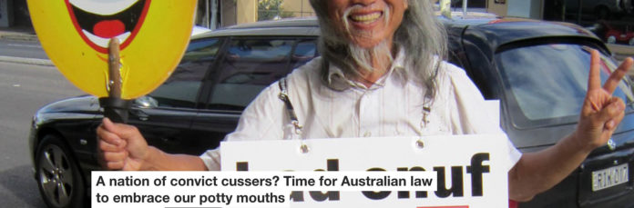 a nation of convict cussers? time for australian law to embrace our potty mouths