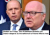 grattan on friday: the rift between brandis and dutton deepens as the behemoth of home affairs rises