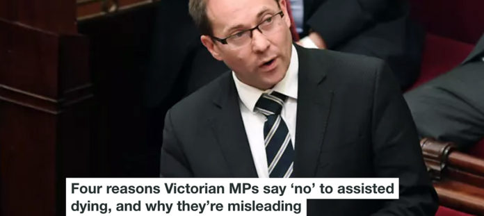 FOUR REASONS VICTORIAN MPS SAY 'NO' TO ASSISTED DYING, AND WHY THEY'RE MISLEADING