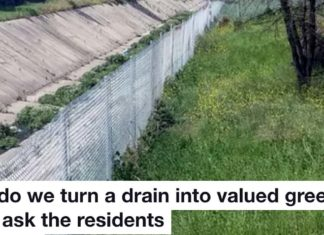 How do we turn a drain into valued green space First ask the residents Heading