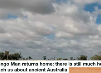 MUNGO MAN RETURNS HOME: THERE IS STILL MUCH HE CAN TEACH US ABOUT ANCIENT AUSTRALIA