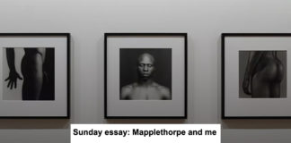 SUNDAY ESSAY: MAPPLETHORPE AND ME