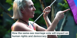How the same sex marriage vote will impact on human rights and democracy header