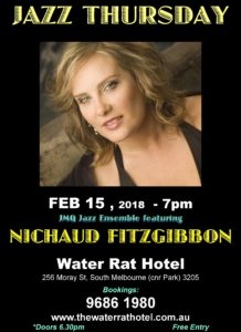 Nichaud Fitzgibbon Features With Jmq At The Water Rat Hotel ,today, Feb 15 At 7pm. All Welcome :-)