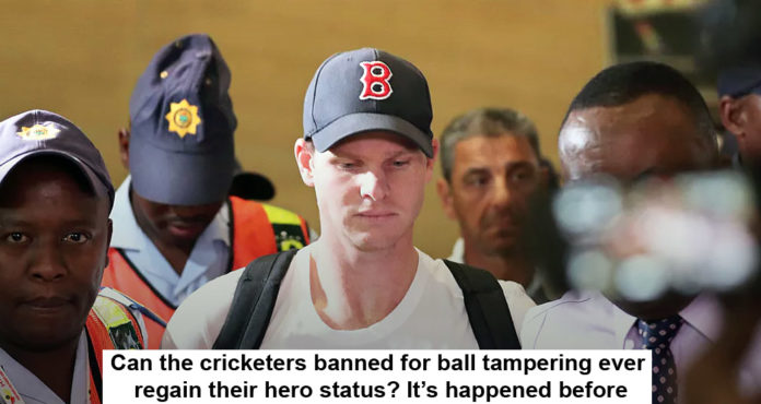 Can The Cricketers Banned For Ball Tampering Ever Regain Their Hero Status? It's Happened Before