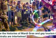 How The Histories Of Mardi Gras And Gay Tourism In Australia Are Intertwined