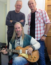 Image of Mick Elliott with Mike Rudd and Darrell Roberts