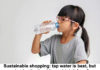 Sustainable Shopping: Tap Water Is Best, But What Bottle Should You Drink It From?