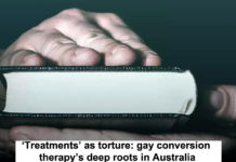 'treatments' As Torture: Gay Conversion Therapy's Deep Roots In Australia