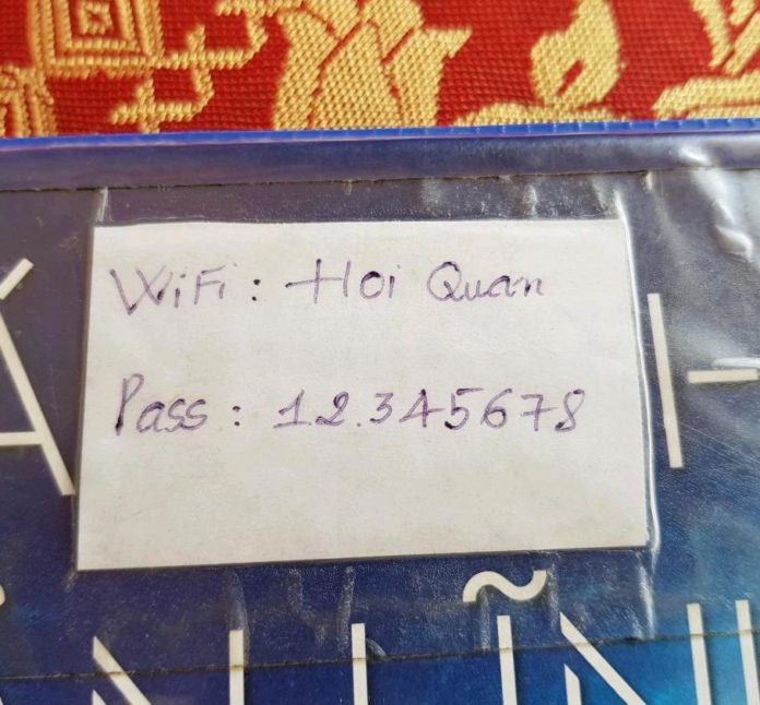 Shhhh Don't Tell Anyone But I've Cracked The Most Popular Wifi Password In Vietnam…
