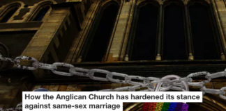 How The Anglican Church Has Hardened Its Stance Against Same-sex Marriage