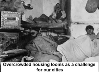 Overcrowding housing Header