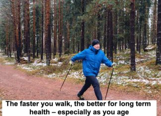 The Faster You Walk, The Better For Long Term Health – Especially As You Age