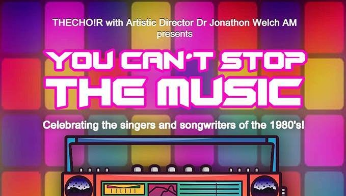 You Can't Stop The Music This Sunday!! Presented By Thecho!r & Artistic Director Jonathon Welch