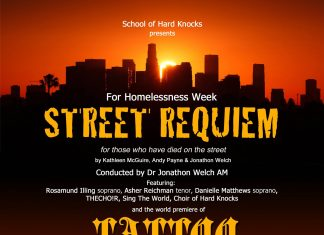 Concert for Homelessness Week 1