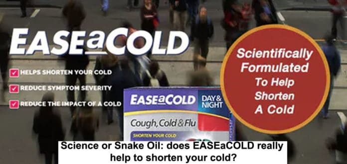 Science Or Snake Oil: Does Easeacold Really Help To Shorten Your Cold?