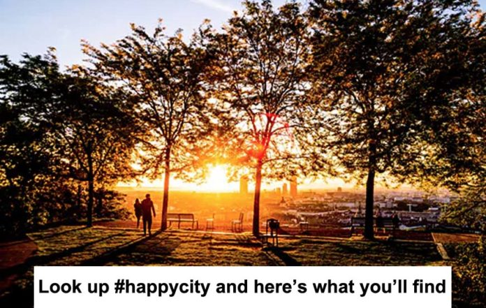 Look Up #happycity And Here's What You'll Find