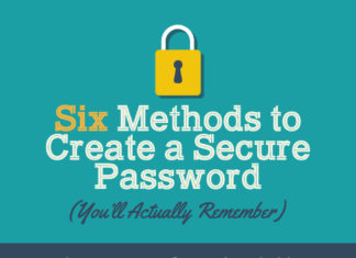 Six Methods To Create A Secure Password You'll Actually Remember