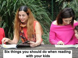 Six Things You Should Do When Reading With Your Kids