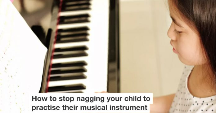 Stop nagging your child to play music Header