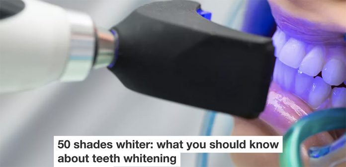 50 Shades Whiter: What You Should Know About Teeth Whitening
