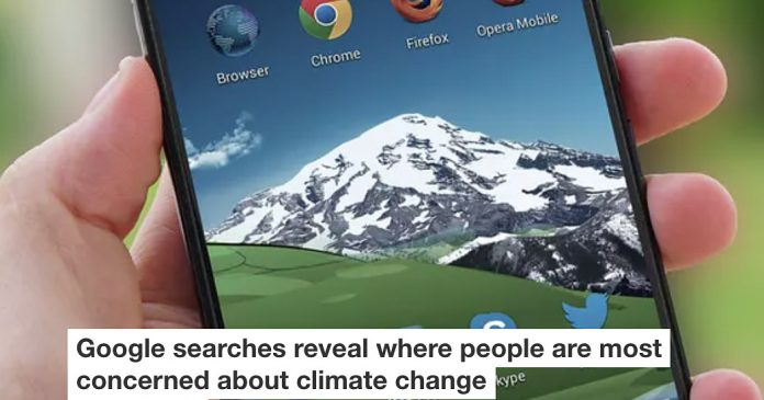 Google Searches Reveal Where People Are Most Concerned About Climate Change