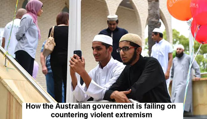 Aust govt failing to counter extremism Header