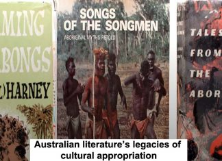 Australian literature's legacies of cultural appropriation Header