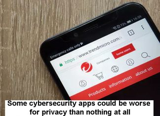 Cybersecurity apps and privacy Header