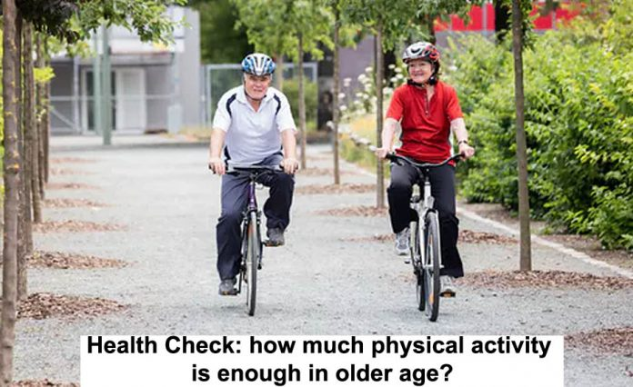 Physical activity in older age Header