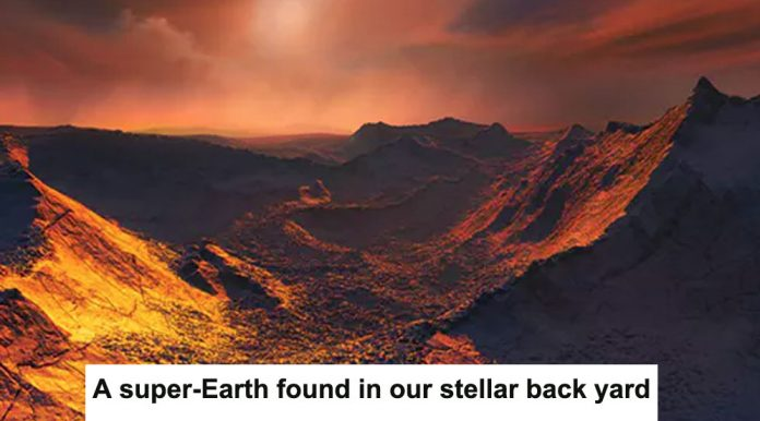 A Super Earth found Header