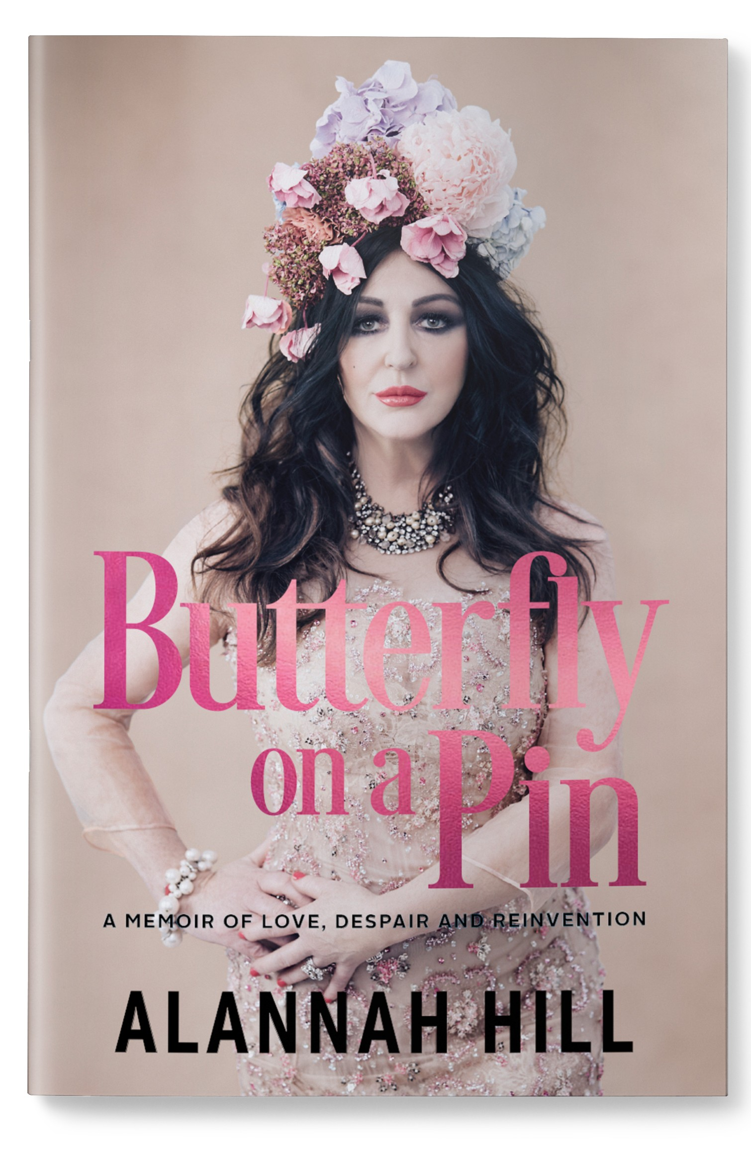 Alannah Butterfly on a Pin 3D