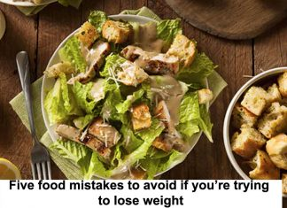 Five food mistakes when trying to lose weight Header