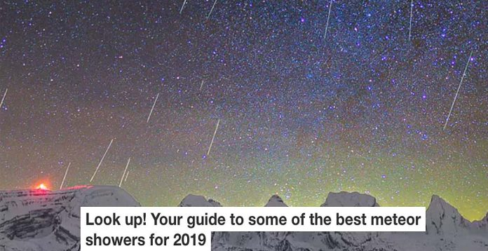 Guide to meteor showers Header