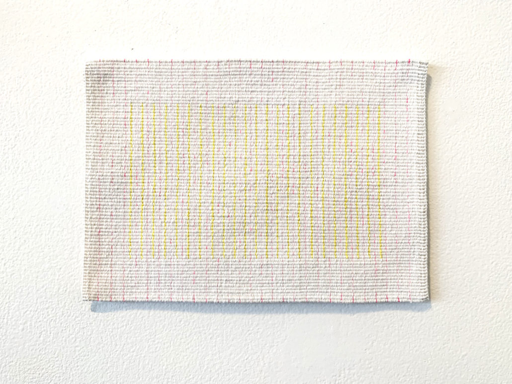 02 02 Kate Derum Award Highly Commended.jpg Line drawing (for Gosia), 2019, Sara Lindsay, cotton, 26 x 18.5 cm